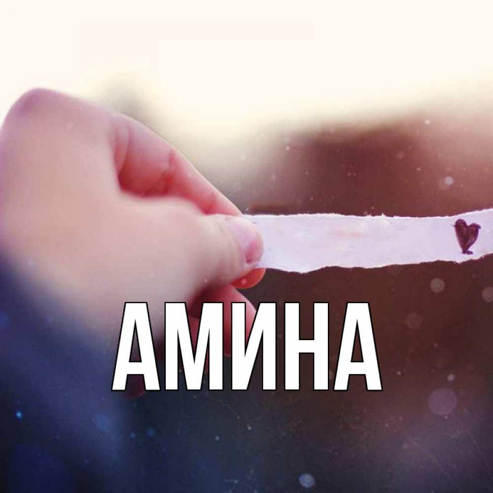 Открытки амина