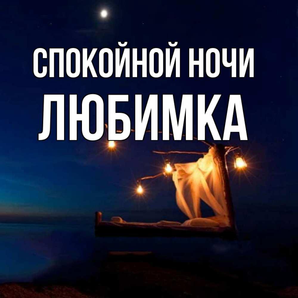 открытка сладкой ночи любимка место отдыха