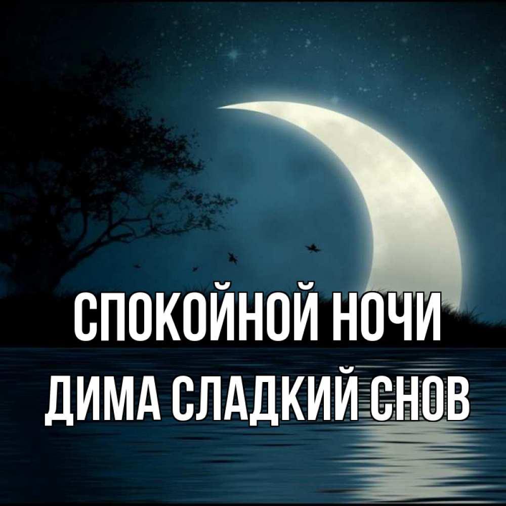 Дима сладких снов картинки
