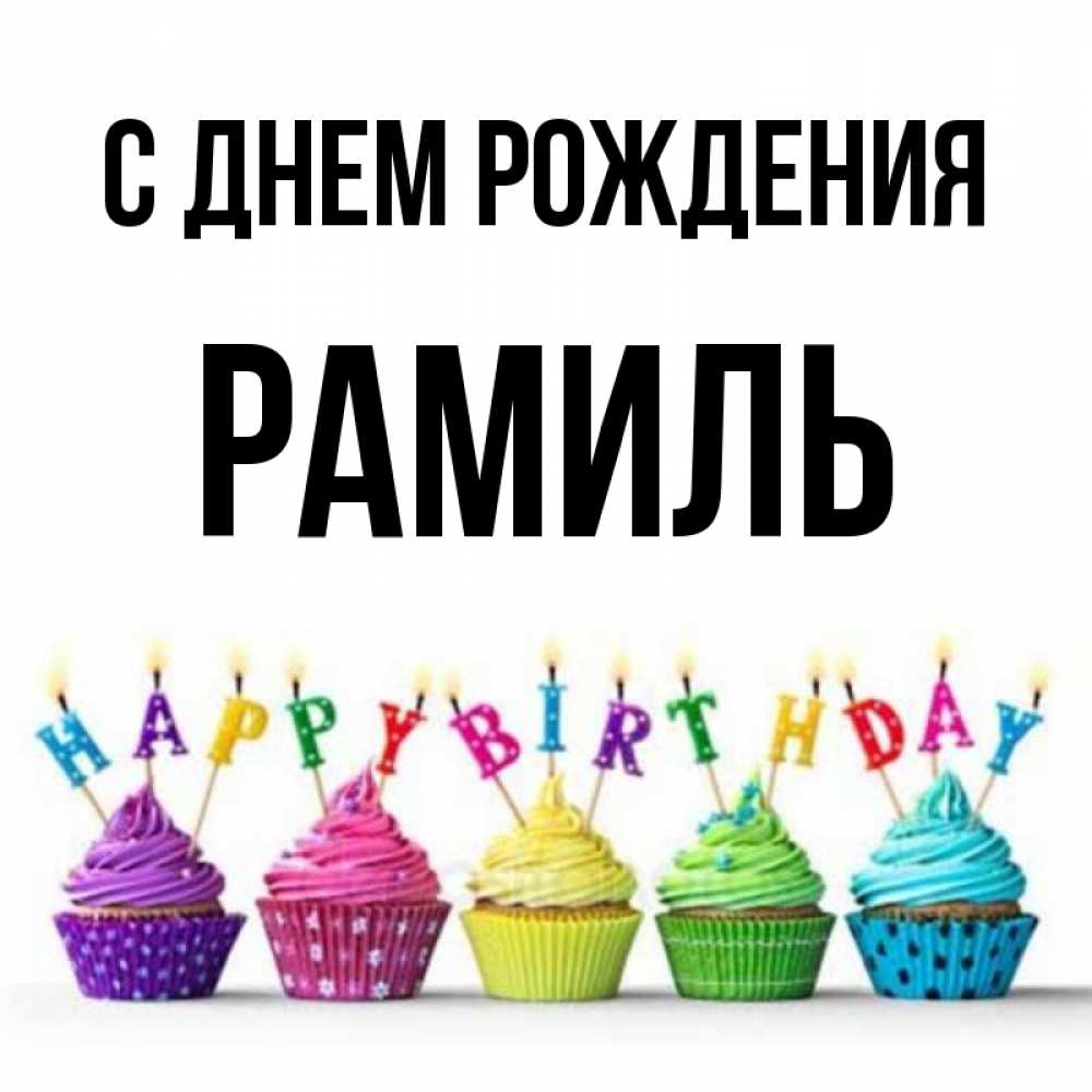 С днем рождения рамиль картинки прикольные, новый год