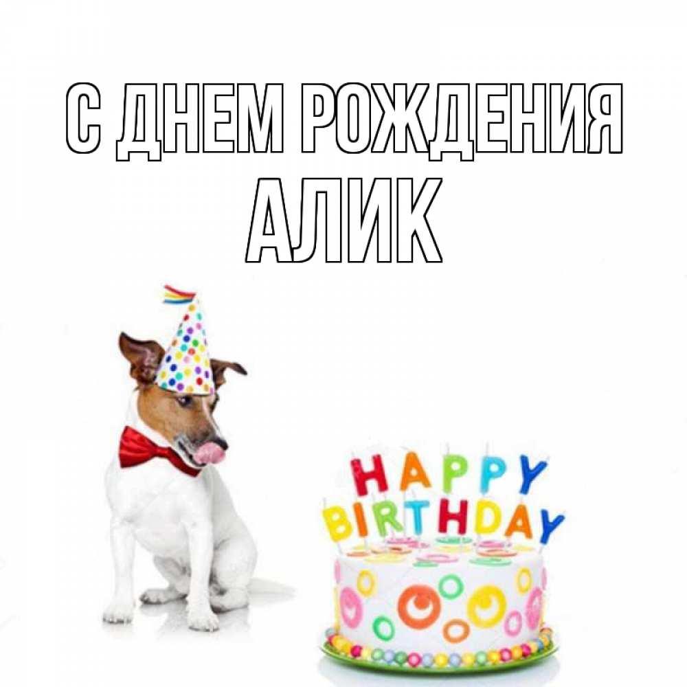 Поздравления с днем рождения алик
