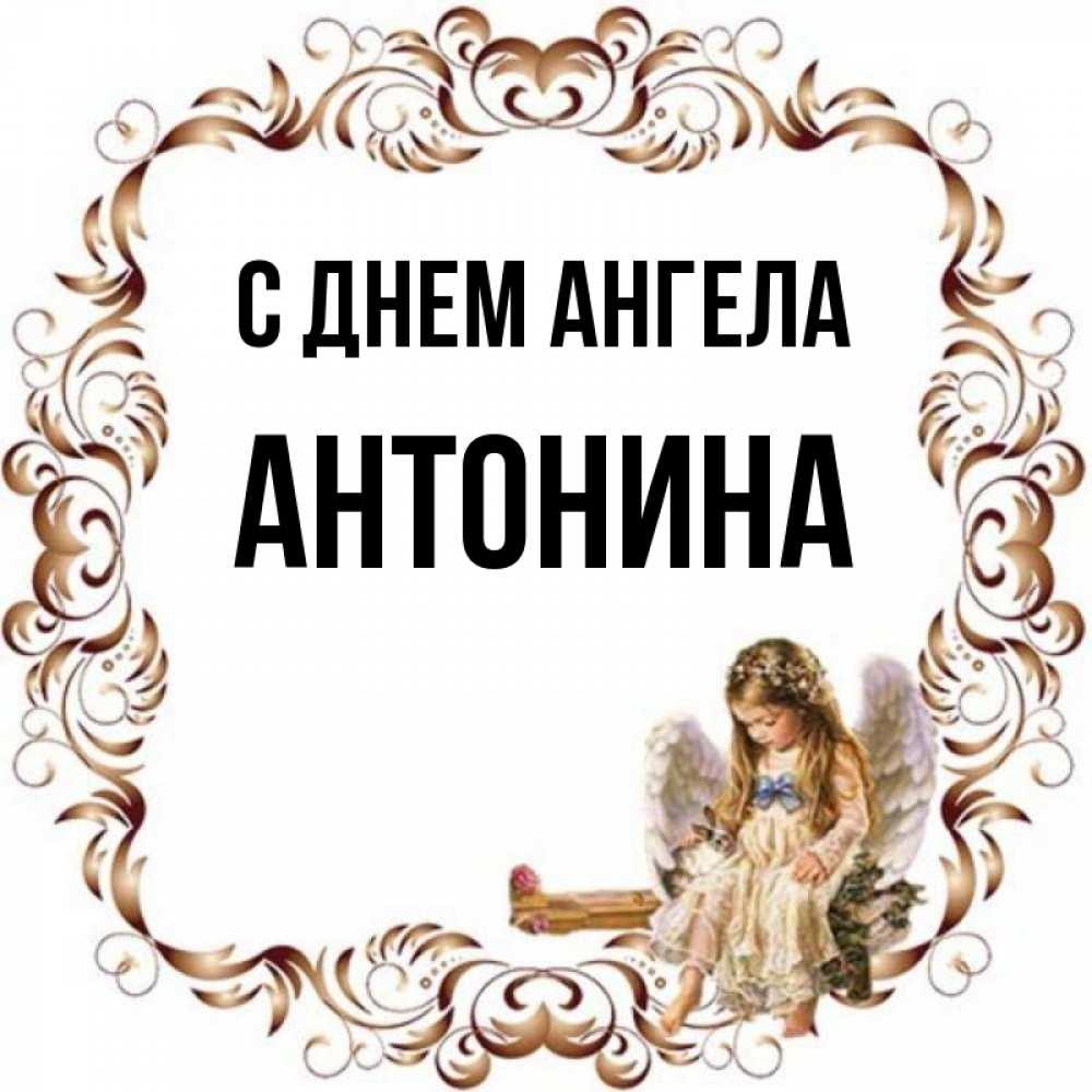 картинка антонина день ангела век больших